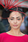 30/07/2015 Repro free  Rosalynd Hurley from Blackrock Cork  at  the Kilkenny Ladies Day at the GAlway races . photo:Andrew Downes