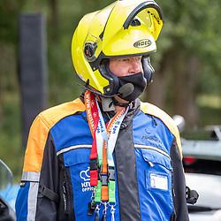 23-08-2020: Wielrennen: NK elite: Drijber <br />KNWU jury motorordonnans Cor Rijpma