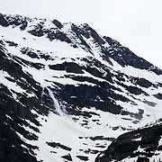 Avalanche number five in the Sperry Glacier Valley.