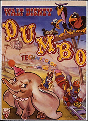 1941, Film Title: DUMBO, Director: BEN SHARPSTEEN, Studio: DISNEY, Pictured: POSTER ART, ILLUSTRATION, CIRCUS, ELEPHANT, DISNEY ANIMATION, ANIMATION. (Credit Image: SNAP/ZUMAPRESS.com) (Credit Image: © SNAP/Entertainment Pictures/ZUMAPRESS.com)