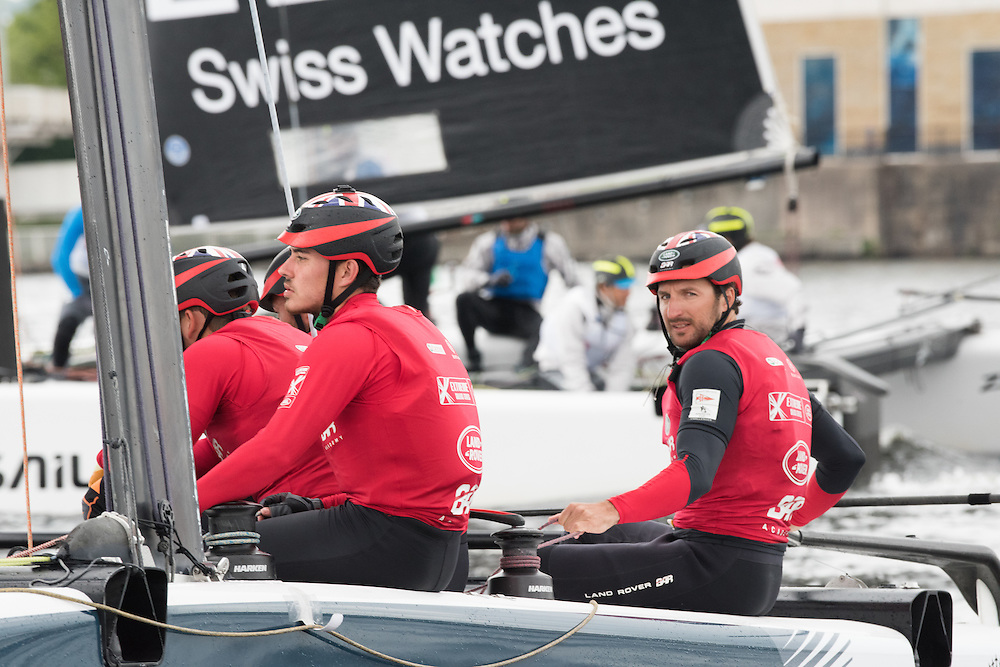 NEIL HUNTER<br /> GBR<br /> SKIPPER<br /> British Sailing Team sailor Neil Hunter was 49er British national champion in 2014 and 2015 as well as coming 36th at ISAF worlds 2014. Hunter is one of the Land Rover BAR Academy trialists who competed in Act 1, Muscat, and Act 2, Qingdao. Now in its tenth season in 2016, the award-winning and adrenaline-fueled global Series has given the sport of sailing a healthy dusting-off. Bringing the action to the public with Stadium Sailing, putting guests at the heart of the battle and dramatically increasing the pace on the water, the creators of the Extreme Sailing Series™ have set new standards, both in terms of high level competition and sporting entertainment. With a new fleet of hydro-foiling GC32s replacing the Extreme 40 for the 2016 season the Extreme Sailing Series™ looks set to be another fast-paced and thrilling year.