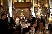 The 2009 Booker Prize dinner. Guildhall. London. 6 October 2009