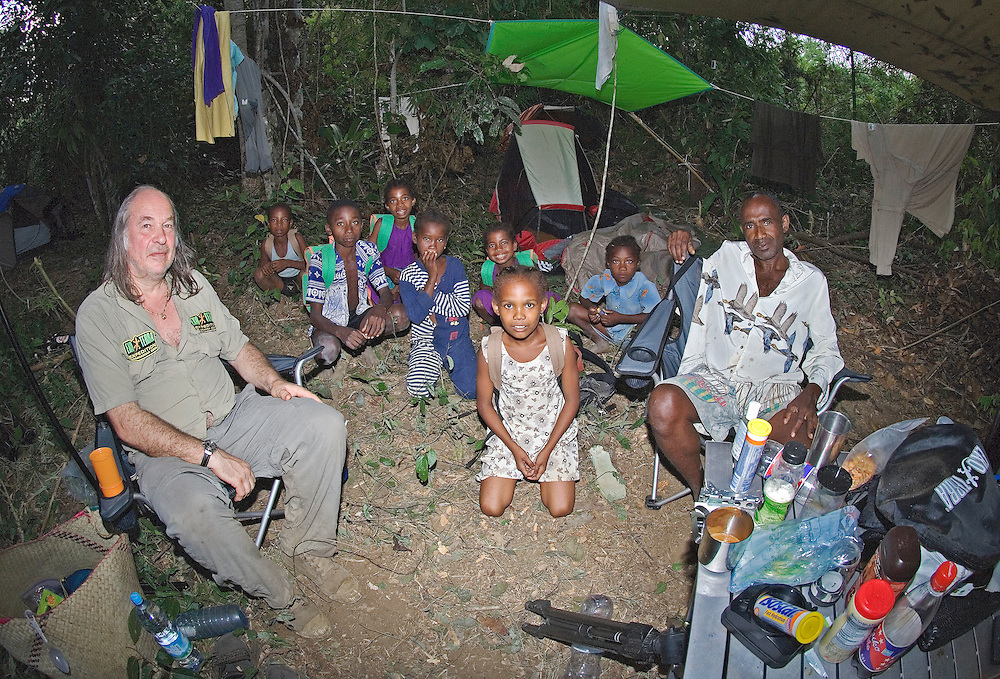 Including the village chief and his family.