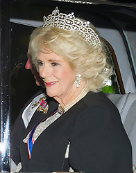 December 5, 2017 - London, London, United Kingdom - Image licensed to i-Images Picture Agency. 05/12/2017. London, United Kingdom. The Prince of Wales and Duchess of Cornwall arriving at The Queen's Diplomatic Reception at Buckingham Palace in London. (Credit Image: © Gustavo Valiente/i-Images via ZUMA Press)