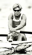 Atlanta Olympics 1996 - Lake Lanier, USA, CAN W1X,  Silken Laumann,  Olympic Silver medallist, Peter Spurrier