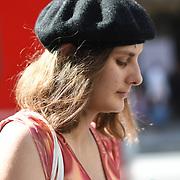 Street photograpy, people walking at Regent Street, London, UK. 1st September 2018.