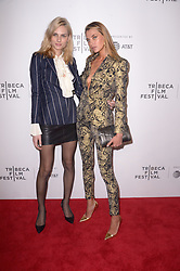 Andreja Pejic, Alina Baikova attending the premiere of the movie American Meme during the 2018 Tribeca Film Festival at Spring Studios in New York City, NY, USA on April 27, 2018. Photo by Julien Reynaud/APS-Medias/ABACAPRESS.COM
