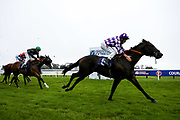 Wiff Waff ridden by Finley Marsh trained by Adrian Wintle wins the attheraces.com Handicap - Mandatory by-line: Robbie Stephenson/JMP - 19/08/2020 - HORSE RACING - Bath Racecourse - Bath, England - Bath Races