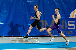 Thijmen Kupers, Djoao Lobles in action on the 800 meter during AA Drink Dutch Athletics Championship Indoor on 21 February 2021 in Apeldoorn.