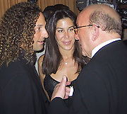 Clive Davis & Kenny G.Clive Davis' pre-Grammy Gala (J Records and BMG).Beverly Hills Hotel .Los Angeles, CA.February 20. 2001.Photo by CelebrityVibe.com..