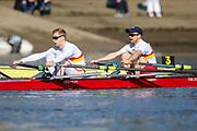 Crew: 4 - Blake / Sanders - Tideway Scullers School - Op 2x Championship <br /> <br /> Pairs Head 2020