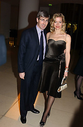 MR TIM & LADY HELEN TAYLOR at a Burns Night supper in aid of Clic Sargent & Children's Hospital Association Scotland hosted by Ewan McGregor, Sharleen Spieri and Lady Helen Taylor at St.Martin's Lane Hotel, 45 St Martin's Lane, London on 25th January 2006.<br /><br />NON EXCLUSIVE - WORLD RIGHTS