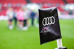 Bristol Audi flag - Rogan/JMP - 28/01/2018 - RUGBY UNION - Ashton Gate Stadium - Bristol, England - Bristol Rugby v Bedford Blues - Greene King IPA Championship.