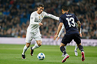 Real Madrid´s Cristiano Ronaldo during 2015/16 Champions League soccer match between Real Madrid and Malmo at Santiago Bernabeu stadium in Madrid, Spain. December 08, 2014. (ALTERPHOTOS/Victor Blanco)