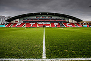 Stadium shot during the The FA Cup 3rd round match between Fleetwood Town and AFC Wimbledon at the Highbury Stadium, Fleetwood, England on 5 January 2019.