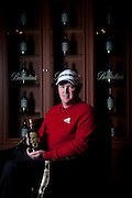 marcus Fraser with the Ballantine's 2011 Championship blend