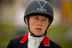 Skelton Chelsea, (GBR)<br /> Class 16 Nations Cup YR<br /> International Competition CSIO Young Riders Opglabbeek 2016<br /> © Dirk Caremans