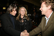 Sam McLean, Georgea Blakey and Mathew Racher, PJ's Annual Polo Party . Annual Pre-Polo party that celebrates the start of the 2007 Polo season.  PJ's Bar & Grill, 52 Fulham Road, London, SW3. 14 May 2007. <br />