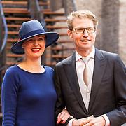 NLD/Den Haag/20180918 - Prinsjesdag 2018, Sander Dekker en partner