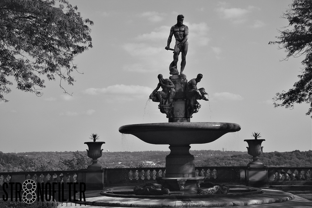 Man of The World is Found at the Rockefeller Home in Upstate NY.  One of many beautiful Sculptures in the Main Garden