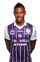 Kelvin Amian Adou of Toulouse during the photo shooting session of Toulouse FC for the new season 2016/2017 in Toulouse on September 16th 2016<br /> Photo : TFC / Icon Sport