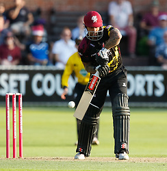 Somerset's Steve Davies<br /> <br /> Photographer Simon King/Replay Images<br /> <br /> Vitality Blast T20 - Round 1 - Somerset v Gloucestershire - Friday 6th July 2018 - Cooper Associates County Ground - Taunton<br /> <br /> World Copyright © Replay Images . All rights reserved. info@replayimages.co.uk - http://replayimages.co.uk