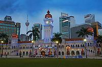 Malaisie, Etat de Selangor, Kuala Lumpur, batiment du Sultan Abdul Samed  // Malaysia, Selangor state, Kuala Lumpur, Sultan Abdul Samed Building