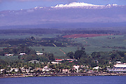 Snowcapped Mauna Kea, Hilo, Island of Hawaii<br />