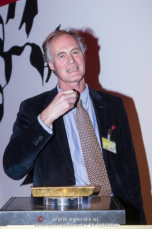 NLD/Amsterdam/20140220 - Boekpresentatie Fout Geld in De Nederlandse Bank, Roel Janssen