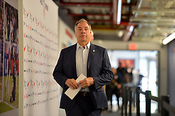 September 1, 2017 - Harrison, NJ, USA - Harrison, N.J. - Friday September 01, 2017: Bruce Arena during a 2017 FIFA World Cup Qualifying (WCQ) round match between the men's national teams of the United States (USA) and Costa Rica (CRC) at Red Bull Arena. (Credit Image: © John Todd/ISIPhotos via ZUMA Wire)