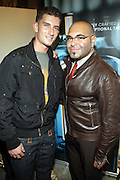 Donnie Klang and Nole Marin at 'Spring on Mulberry Block Party'  celebration for Shane and Shawn Shoes sponsored by Bombay Sapphire and held at The Shane & Shawn Store in New York City on May 7, 2009