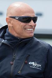 Artemis Racing (SWE) vs. Luna Rossa (ITA), Semi-final race four of the Louis Vuitton Cup. .  10th of August, 2013, Alameda, USA