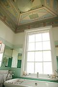 The master bathroom at Vanbrugh Castle, Greenwich, London, UK CREDIT: Vanessa Berberian for The Wall Street Journal. VANBRUGH