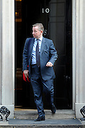 © Licensed to London News Pictures. 21/03/2012. Westminster, UK. The Education Secretary, Michael Gove, on Downing Street on the day of the budget on March 21, 2012. The Chancellor is expected to raise the amount of money people can earn before income tax takes hold and impose a new levy on the purchase of expensive homes. Photo credit : Stephen SImpson/LNP