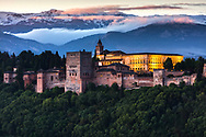 Mediaval moorish palace in Granada