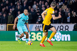 February 11, 2019 - Wolverhampton, England, United Kingdom - Jose Salomon Rondon of Newcastle United on the ball during the Premier League match between Wolverhampton Wanderers and Newcastle United at Molineux, Wolverhampton on Monday 11th February 2019. (Credit Image: © Mi News/NurPhoto via ZUMA Press)
