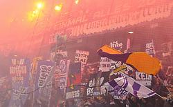 13.03.2011, Franz Horr Stadion, Wien, AUT, 1.FBL, FK Austria Wien vs SK Rapid Wien, im Bild Austria Wien Fans, EXPA Pictures © 2011, PhotoCredit: EXPA/ M. Gruber