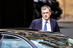 © Licensed to London News Pictures. 22/05/2019. London, UK. Conservative Chief Whip Julian Smith arrives at Parliament. Ministers have requested a series of private meetings with Prime Minister Theresa May to discuss concerns about proposed changes to the Withdrawal Bill Agreement. Photo credit: Rob Pinney/LNP