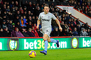 Mark Noble (16) of West Ham United during the Premier League match between Bournemouth and West Ham United at the Vitality Stadium, Bournemouth, England on 19 January 2019.