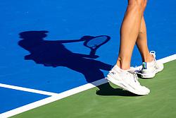 PORTOROZ, SLOVENIA - SEPTEMBER 18: Renata Voracova of Czech Republic competes during the Semifinals of WTA 250 Zavarovalnica Sava Portoroz at SRC Marina, on September 18, 2021 in Portoroz / Portorose, Slovenia. Photo by Matic Klansek Velej / Sportida