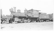 RGS 2-8-0 #6 stored at Alamosa, CO.<br /> RGS  Alamosa, CO  Taken by Kindig, Richard H. - 4/19/1935