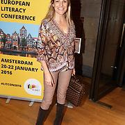 NLD/Amsterdam/20160121 - Uitreiking Taalhelden prijzen 2016 door Prinses Laurentien, Lucille Werner
