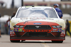 April 6, 2018 - Ft. Worth, Texas, United States of America - April 06, 2018 - Ft. Worth, Texas, USA: The NASCAR Xfinity Series teams take to the track for the My Bariatric Solutions 300 at Texas Motor Speedway in Ft. Worth, Texas. (Credit Image: © Stephen A. Arce/ASP via ZUMA Wire)