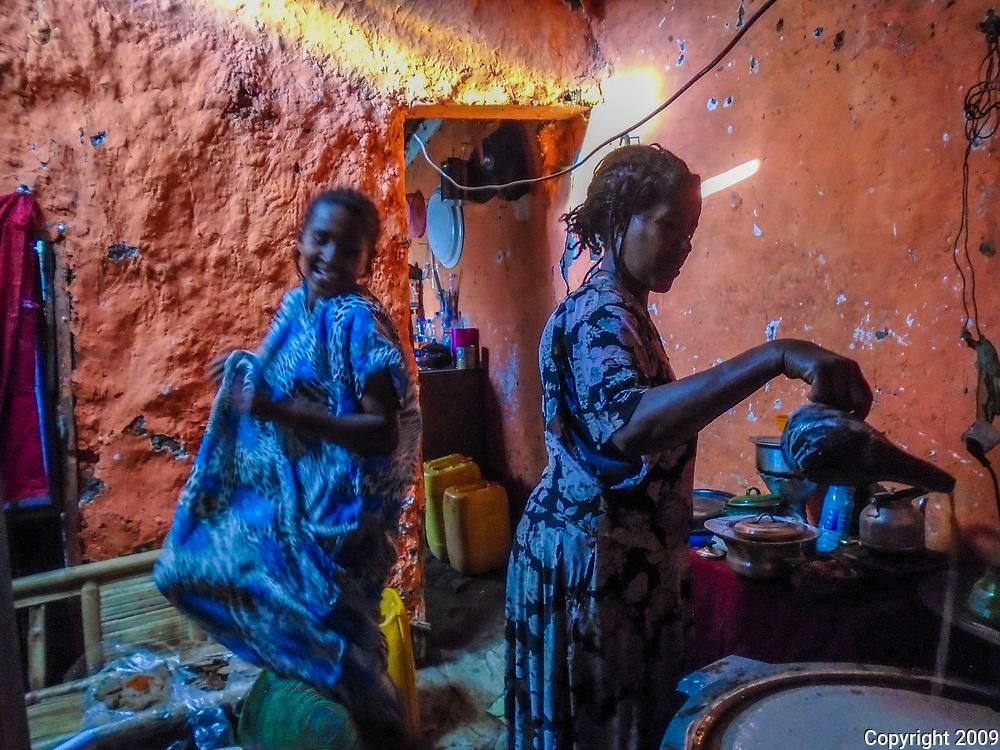 Making Injera by Zebaney Bose
