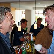 NLD/Amsterdam/20180503 - Beste Vriend Andere Tijden Sport en Olympisch Stadion, Aad de Mos in gesprek met Edwin Winkel
