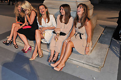 Left to right, KATHERINE FRANCEY; BEATRICE WARRENDER; EMMA ASKARI; VASSI CHAMBERLAIN; CARMEL SCOTT at the Royal Academy of Arts Summer Exhibition Preview Party at Burlington House, Piccadilly, London on 2nd June 2011.