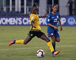October 12, 2018 - Edinburgh, Scotland, United Kingdom - Edinburg, NC - OCTOBER 11: 2018..During CONCACAF Women's Championship Group B match between Cuba against Jamaica at H-E-BPark Stadium, Edinburg,  on October 11, 2018  (Credit Image: © Action Foto Sport/NurPhoto via ZUMA Press)