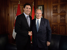 Justin Trudeau Meets With The Aga Khan - 17 May 2017