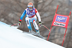 20.01.2011, Tofana, Cortina d Ampezzo, ITA, FIS World Cup Ski Alpin, Lady, Cortina, Abfahrt 2. Training, im Bild Martina Schild (SUI, #31) // Martina Schild (SUI) during FIS Ski Worldcup ladies downhill second training at pista Tofana in Cortina d Ampezzo, Italy on 20/1/2011. EXPA Pictures © 2011, PhotoCredit: EXPA/ J. Groder