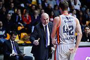 Assistant coach e Doornekamp Aaron, EA7 EMPORIO ARMANI OLIMPIA MILANO vs VALENCIA BASKET, EuroLeague 2017/2018, PlalaDesio Desio 22 marzo 2018 FOTO: Bertani/Ciamillo